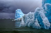 Glaciers In Laguna San Rafael