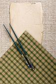 Background With Chopsticks