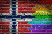 Dark Brick Wall - Lgbt Rights - Norway