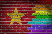 Dark Brick Wall - Lgbt Rights - Vietnam