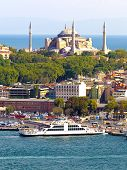 Hagia Sophia and Sirkeci Port