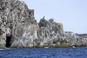 jagged rocks, St. Anthony, Newfoundland