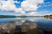 Lipno Lake, Czech Republic.