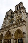 image of notre dame  - Photo shows Notre Dame de Paris or just Notre Dame that is a historic religious cathedral on the eastern half of the  - JPG