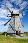 Belarus, Minsk Region, Dudutki, Museum Of Ancient National Crafts And Technologies. Windmill