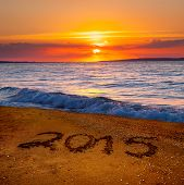 new year 2015 digits