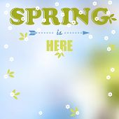 Spring Is Here Words