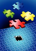 Incomplete Puzzle Set