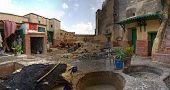 Tetouan Tannery Panoramic