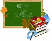 Back to School. Vector illustration