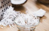 Portion Of Grated Coconut