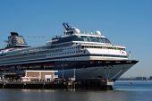 Sick cruise ship