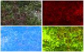 Set Of Mosaic Backgrounds