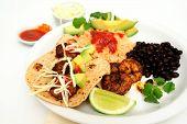 Shrimp Taco Plate