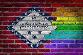 Dark Brick Wall - Lgbt Rights - Arkansas