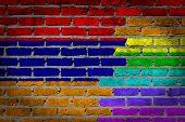 Dark Brick Wall - Lgbt Rights - Armenia