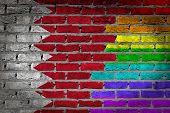 Dark Brick Wall - Lgbt Rights - Bahrain
