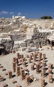 Ancient antifacts from the Roman city of Kourian in Cyprus