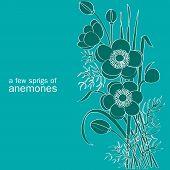 A Few Sprigs Of Anemones