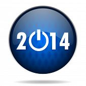 2014 internet blue icon