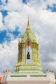 the top of  Buddhism temple in thailand