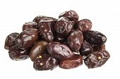 pic of kalamata olives  - Pile of Kalamata Olives on White Background - JPG