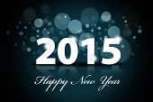 foto of countdown  - Sparkle background of happy new year 2015 - JPG