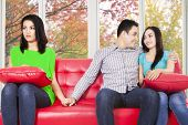 Man Cheating His Girlfriend