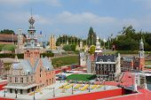 BRUSSELS, BELGIUM - SEPTEMBER 4: Mini-Europe on September 4, 2014 in Brussels. Mini-Europe has repro
