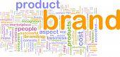 Marketing Hintergrund Markenkonzept