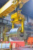 Crane Loading Of Metal