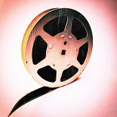 picture of mm  - 16 mm reel old movie film archive - JPG