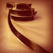 pic of mm  - 16 mm reel old movie film archive - JPG