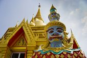 The Giant At The Buddha Temple, Thailand