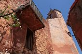 Church Tower In Roussillon
