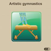Artistic gymnastics - Illustration