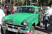 Compact Car Moskvitch 402