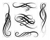 Calligraphic Swirls