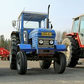 Classic Leyland 255 Agricultural Tractor