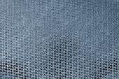 Texture Shiny Fabric Of Dark Blue Color