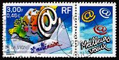 Postage Stamp France 2000 Start Of The 3Rd Millennium