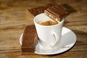 Espresso Coffee And Chocolate