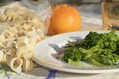 Pasta With Turnip Greens