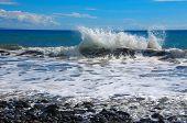 Waves Ocean and Sky - Maui Hawaii