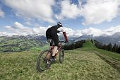 Mountainbike With View