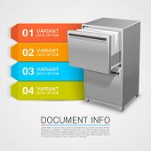 Closet safe with documents info