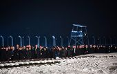 Ceremony Dedicated To 70Th Anniversary Of The Liberation Of Auschwitz-birkenau Concentration Camp