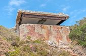 Derelict Military Observation Post From World War Ii At Cape Point