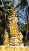 Statue Guan Yin Chinese Goddess Of Mercy