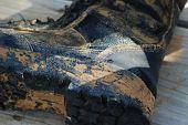 Dirty Combat Boot
